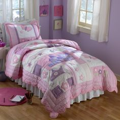 Have to have it. Pem America Princess Quilt Set  Hay Needle
