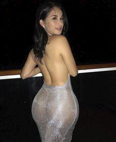 Yazmoon Silver transparent dreess, feel sexy