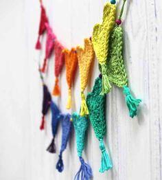 Crochet Heart Bunting for Little Hearts Matter