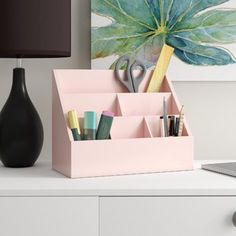 Rebrilliant Desk Pad with Cover Sheet Office Supply Organization, Desktop Organization, Desk Supplies, Office Supplies, Pot A Crayon, Desk Tray, Wall Desk, Diy Desk, Home Office Decor
