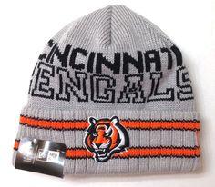 Cincinnati Bengals Cuffed Beanie Knit Winter Cap Hat NFL Authentic New Era.  C R · Who Dey Redlegs! 263368635