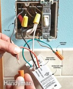 Prevent Mold with the DewStop Fan Switch | The Family Handyman