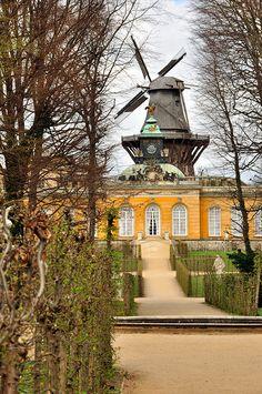 Park Sanssouci Potsdam Poczdam