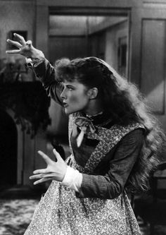 Katharine Hepburn, Little Women. - she was the best Jo ever in the movies - she made Jo come to life!!