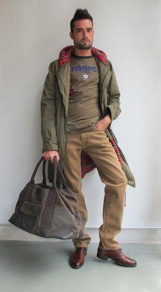 #wilcolook #moda #hombre cazadora #merc camiseta #merc http://www.miinto.es/shops/b-1040-wilco