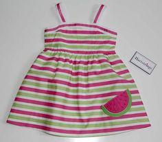 aww watermelon and stripes!