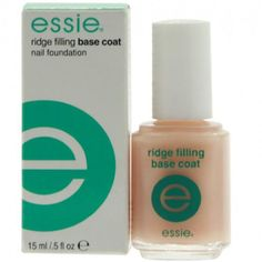 Essie Ridge Filling Base Coat  i need this in my life
