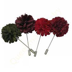 handmade flower fashion brooch for men and women