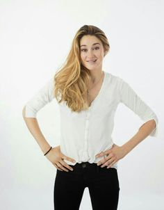 Shailene Woodley - Actress - I related to your character in The Spectacular Now and I know you will make an amazing Hazel!