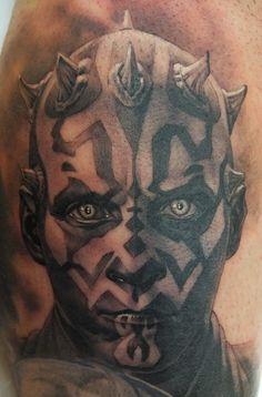 Tatuagem Realista | Darth Maul