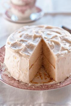 #PaulaDeen's Pink Lemonade Cake - I'm making this for my sister's bridal shower!