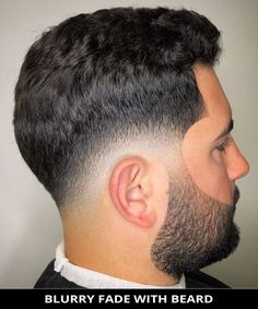 Style your hair into this magnificent blurry fade with beard that's totally trending this season! Ok, now tap here to learn more about this look and also check out the rest of these 22 most popular pictures of beard fade haircut and hairstyle ideas for guys. // Photo Credit: @the_real_ayydot on Instagram Latest Hairstyles, Hairstyles Haircuts, Beard Fade, Rugged Look, Beard Styles For Men, Fade Haircut, Most Popular, Photo Credit, Hair Cuts
