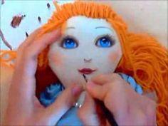 Pigotta. Come disegnare il viso della pigotta - YouTube