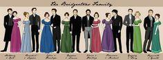 A Familia Bridgertons ❤