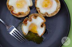 Tortilla, Cheese, & Chorizo Eggs // AsAVerb.com