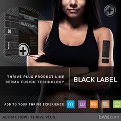 Black Label was created and formulated to provide Customers and Promoters combining Black Label with Thrive Capsules and Thrive Lifestyle Mix with superior results in terms of general health, wellness, fitness, weight management, mental acuity, and mood support.  -Weight Management -Mental Acuity -Mood Support -Derma Fusion Technology -Supports Energy & Circulation -Promotes Physical Fitness