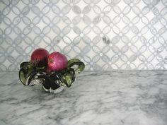 Florida Flower marble mosaic backsplash Marble Mosaic, Mosaic Backsplash, Kitchen Time, Projects To Try, Florida, Concept, Granite, Flowers, Kitchens