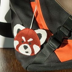 Red Panda Bag Accessory, Personalize your backpack or purse with this cutie. Zipper Made in Norway. Special Makeup, Red Panda, Pencil Pouch, Norway, Fashion Backpack, Bag Accessories, Charmed, Backpacks, Zipper