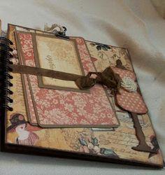 Creative Cafe': Ladies Diary 8 x 8 Mini Album