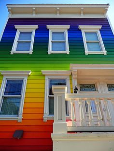 rainbow house in SF