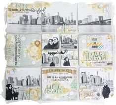 PL July 8 - iggydodie Travel Scrapbook Pages, Pocket Scrapbooking, Mini Scrapbook Albums, Mini Albums, Layout Inspiration, Life Inspiration, Project Life Travel, Travel Album, Memory Album