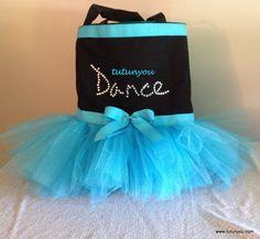 Frozen Inspired Tutu Dance Bag by Tutunyou on Etsy