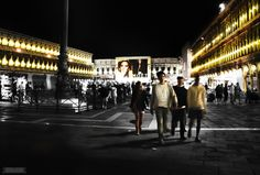 The Golden Days in St. Mark's Square - Venice After Dark photo series on BeersandBeans.com