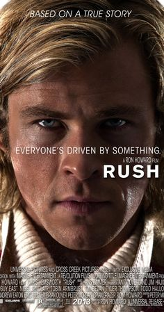 Rush  (2013)  R  8.3    The merciless 1970s rivalry between Formula One rivals James Hunt and Niki Lauda.