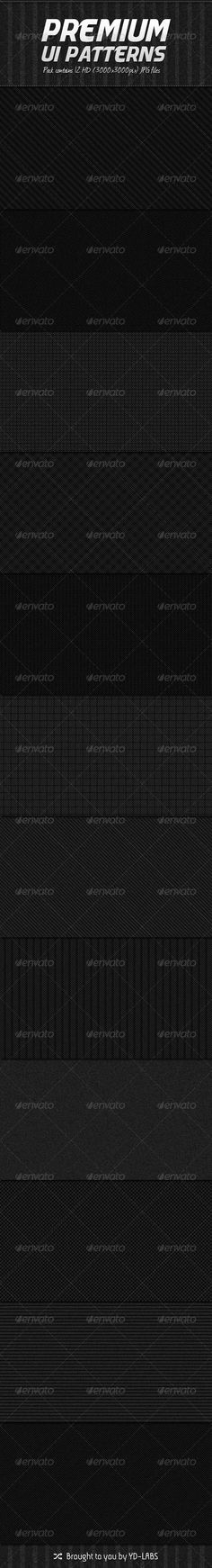 Item ¨C 12 Premium Patterns Files included ¨C 12 High Resolution JPG files For Other items please check o Mobile Ui Patterns, Web Patterns, Background S, Background Patterns, Club Flyers, Stencil Templates, Textured Wallpaper, Pattern Design, Web Design