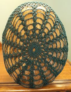 Crochet snood neck round