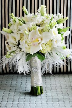 ♡ White Wedding Bouquet ♡ #Wedding #Planning #App for brides, grooms, parents & planners https://itunes.apple.com/us/app/the-gold-wedding-planner/id498112599?ls=1=8  how to organise an entire wedding, within ANY budget ♥ The Gold Wedding Planner iPhone App ♥ http://pinterest.com/groomsandbrides/boards/  for more magical wedding ideas ♡