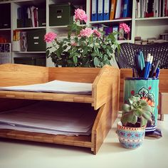 APM- Hygge in the office Study Office, Home Office, Interior Garden, Interior Design, How To Pronounce Hygge, Letter Tray, Meet Friends, Project Management, Trays