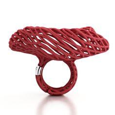 Ring Filidinuvola-Red - RINGS - Falabrac
