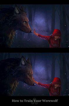 Teen Wolf - Derek Hale x Stiles Stilinski - Sterek Mythical Creatures Art, Fantasy Creatures, Werewolf Art, Stiles Werewolf, Werewolf Drawings, Wolf Pictures, Wolf Spirit, Sterek, How To Train Your Dragon