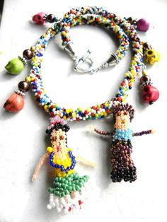 Frida & Diego necklace