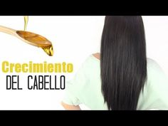 Crecimiento del cabello con aceites. How to grow your hair with oil treatment.