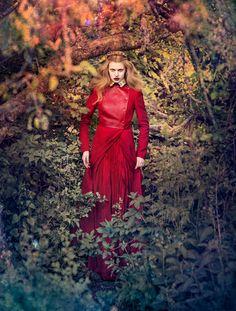 dreams and reality: elsa brisinger by carl bengtsson for elle sweden august 2012