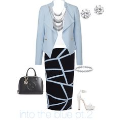 A fashion look from February 2015 featuring Topshop tops, Vero Moda blazers and Jonathan Simkhai skirts. Browse and shop related looks.