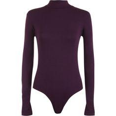 WearAll Turtleneck Long Sleeve Bodysuit