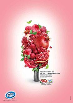 ice cream advertising - Buscar con Google