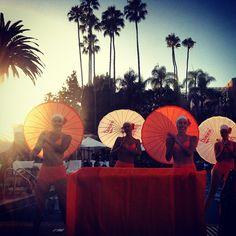 "@Kelly Mason's photo: ""Aqualillies at the Beverly Hills Hotel!""    #splendidsummer"