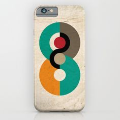 Protect your iPhone with a one-piece, impact resistant, flexible plastic hard… Iphone Skins, Iphone Cases, Hallway Art, Geometric Circle, Scandinavian Art, Ipod, Symbols, Art Prints, Circles