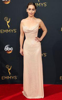 Emilia Clarke: 2016 Emmys Red Carpet Arrivals