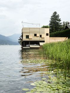 Gallery of Boat's House at Millstätter Lake / MHM architects - 9