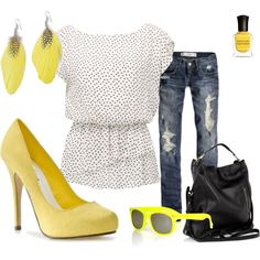 I do love yellow.