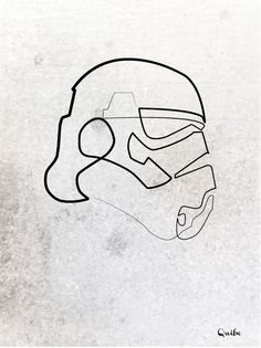 Quibe - One Line Stormtrooper