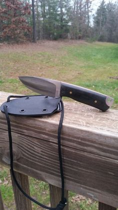 Strong neck knife from Justifier Knives. LOVE this blade.