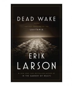 This New York Times bestseller examines and retells the story of the Lusitania, a luxury ocean liner considered to be the fastest cruise ship in the world during WWI. The ship sank in May 1915, carrying with it a record number of infants and children. Larson's carefully researched story attempts to answer many of the questions surrounding the disaster.
