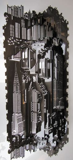 Ingrid Siliakus - Paper architect/artist