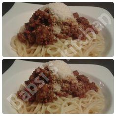 SPAGHETTI BOLOGNESE Rezept: http://babsiskitchen-foodblog.blogspot.de/2015/07/spaghetti-bolognese.html